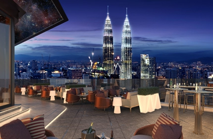 Dine in the Sky at KL Tower